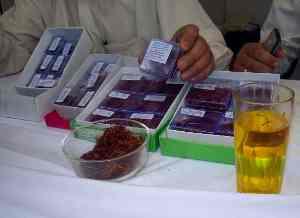 Saffron Testing after Harvesting